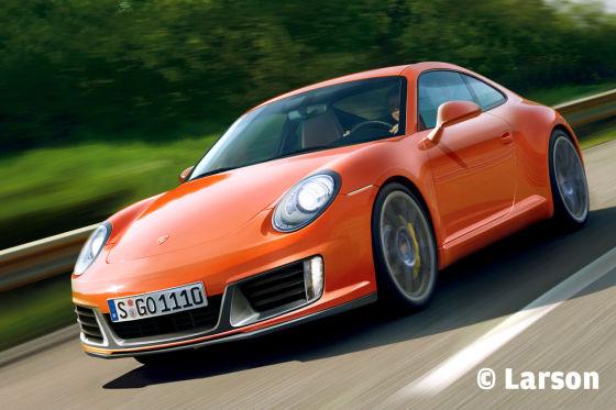 Illustration Porsche 991