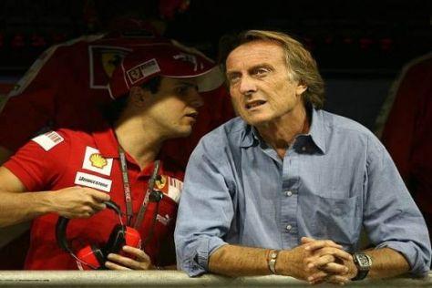 Von Felipe Massa hält Ferrari-Präsident Luca di Montezemolo sehr viel