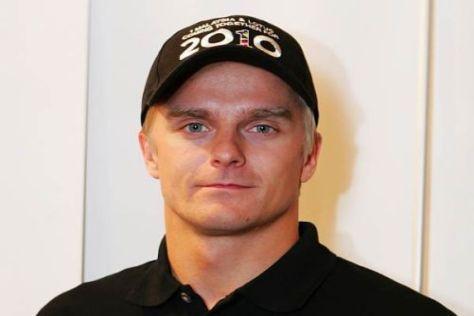 Heikki Kovalainen ist derzeit recht häufig zu Besuch beim Lotus-Team