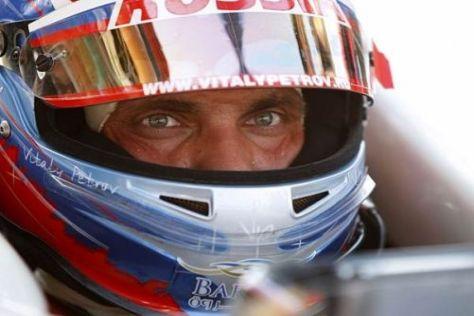 Das Abenteuer Formel 1 kann beginnen: Vitaly Petrov wird Grand-Prix-Fahrer