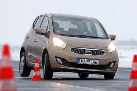 Test Kia Venga 1 4 Cvvt Sicherer Minivan In A Klasse