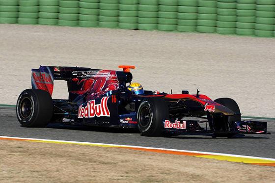 Sébastien Buemi im neuen Toro Rosso