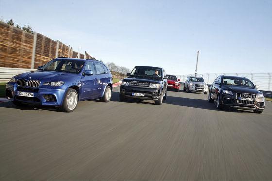 Audi Q7 BMW X5 Porsche Cayenne Range Rover  Sport Mercedes M-Klasse