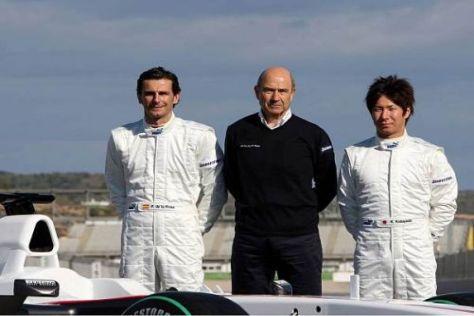 Alle wundern sich, warum Peter Sauber weiterhin BMW im Teamnamen behält