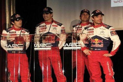 Sébastien Loeb führt das Citroen-Werksteam weiter an