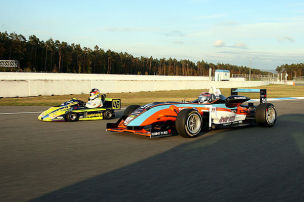 Superkart vs. Formel 3