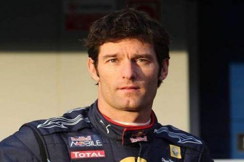 Nach dem vierten Platz 2009 will Mark Webber 2010 Weltmeister werden