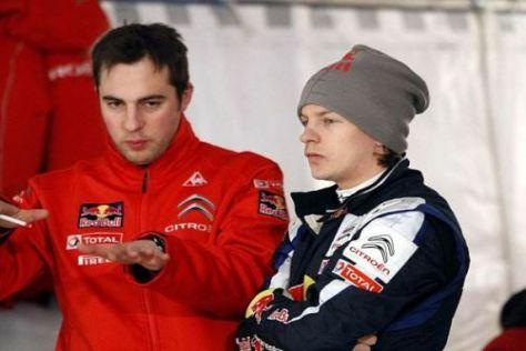 Wissbegierig: Kimi Räikkönen versucht, schnell und viel zu lernen