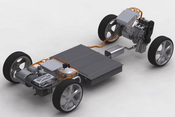 Hybrid-Antrieb Proton-Studie