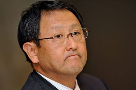 Toyota Präsident Akio Toyoda