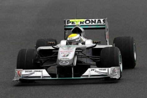Nico Rosberg machte aus nassen Bedingungen einen erfolgreichen Tag