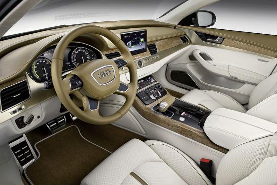 Audi A8 hybrid