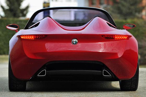 Alfa Romeo Concept (Duettottanta) von Pininfarina