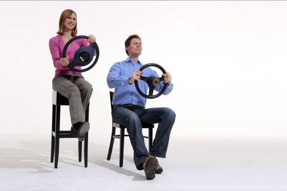 Frau und Mann Symbolfoto