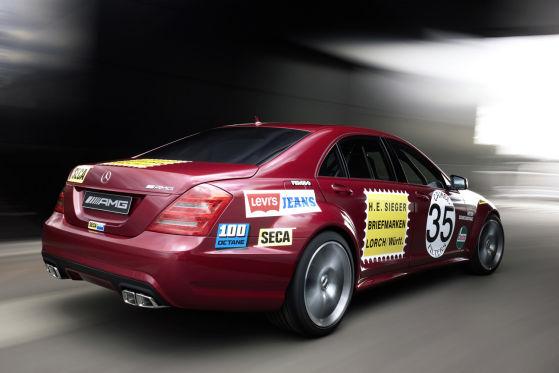 Die 571 PS starke Version des neuen S 63 AMG sprintet in 4,3 Sekunden auf Tempo 100. Spitze: 300 km/h!