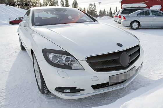Mercedes CL Erlkönig