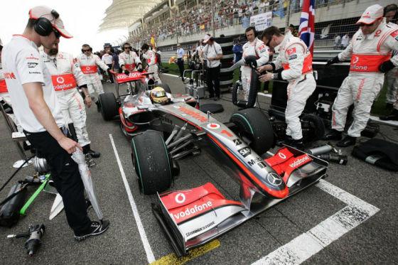 Ab jetzt nur noch Reifenwechsel: Während eines Rennens dürfen die Teams nicht mehr nachtanken.