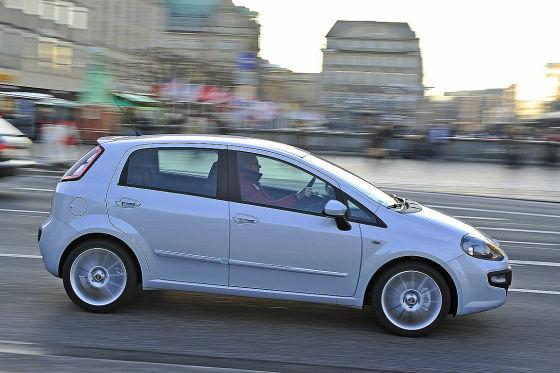 VW Polo Fiat Punto Evo Peugeot 207
