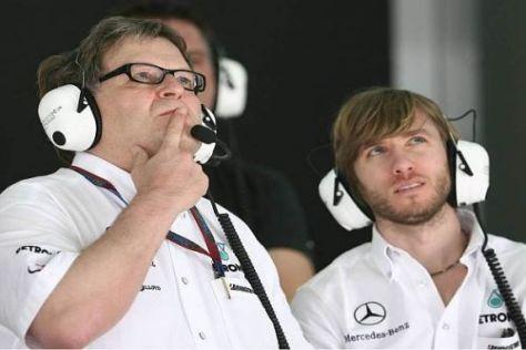 Norbert Haug und Nick Heidfeld schieben nach dem ersten Rennen keine Panik