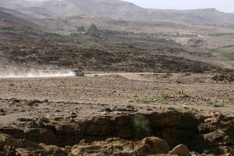 Normalerweise ist es in Jordanien trocken, doch nun gab es ein schweres Unwetter