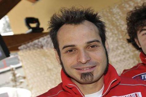 Vittoriano Guareschi fühlt sich in seiner Doppelrolle bei Ducati pudelwohl