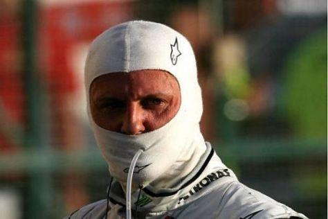 Michael Schumacher visiert in Melbourne eine weitere Steigerung an