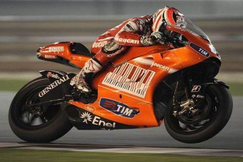 Beide Ducati-Werkspiloten konnten sich am Freitag weit vorne platzieren