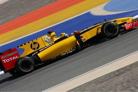 Robert Kubica setzt voll und ganz auf einen Aufwärtstrend beim Renault-Team