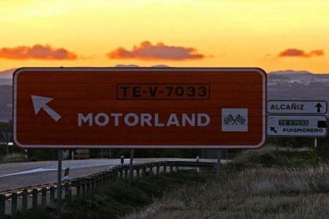 Bis 2014 steht das Motorland Aragón als Ersatzstrecke jederzeit bereit