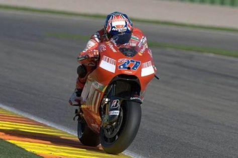 Casey Stoner war lange Zeit der einzige Pilot, der mit der Ducati zurechtkam