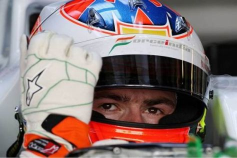 Adrian Sutil: Nur eine Trainingsstunde, aber erneut locker in den Top 10