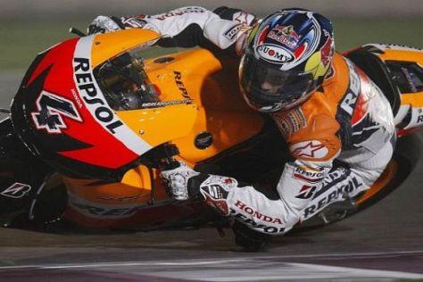 Andrea Dovizioso war bei den Tests in Katar schnellster Honda-Pilot