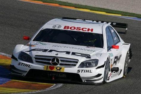 Ralf Schumacher sicherte sich in Valencia am Samstag die Bestzeit