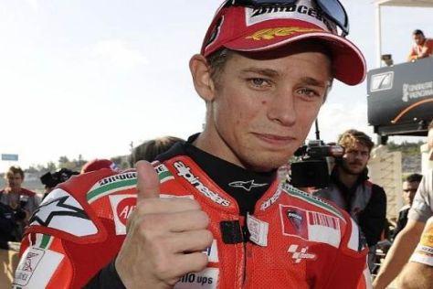 Ducati will Casey Stoner auch nach dem Auslaufen seines Vertrags halten