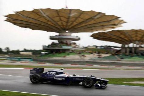 Nico Hülkenberg holte in seinem dritten Formel-1-Rennen den ersten WM-Punkt