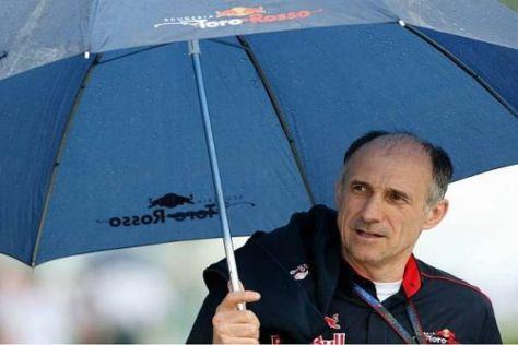 Franz Tost ist Schirmherr bei Toro Rosso - und sieht das Team auf einem guten Weg