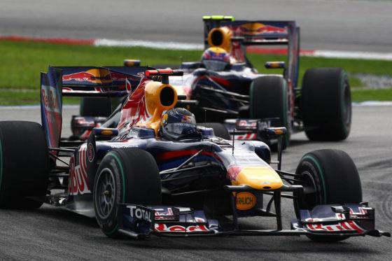Sebastian Vettel Sieger beim Großen Preis von Malaysia 2010