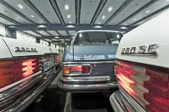 Mercedes W126 W116 W108