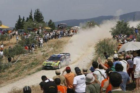 Mikko Hirvonen und Co. sollen die Fans im Mai für die Rallye Portugal begeistern
