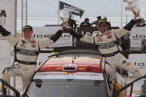Phil Mills und Petter Solberg bestreiten ihren 150. gemeinsamen WRC-Lauf