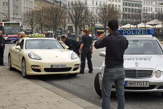 Porsche Panamera Turbo Taxi