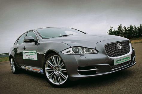 Jaguar XJ Plug-in-Hybrid-Studie 'Limo Green'