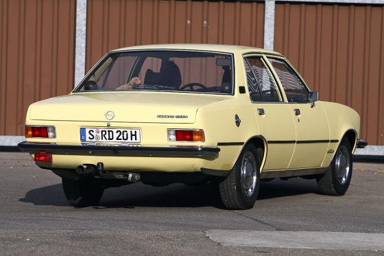 Opel Rekord D Millionär