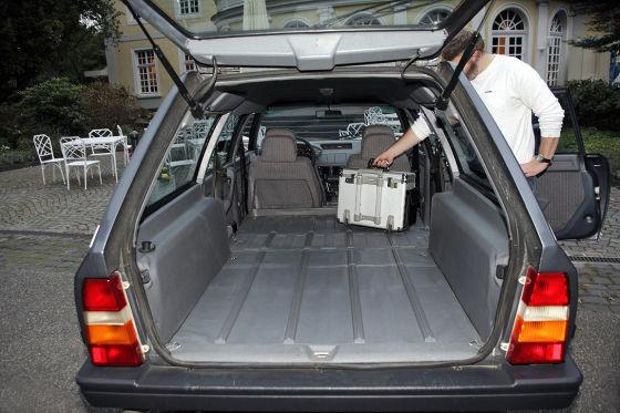 Citroën CX 25 Break: Ladefläche