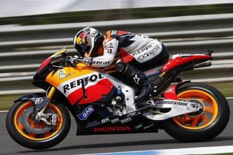Dani Pedrosa hätte in Jerez beinahe einen Start-Ziel-Sieg gefeiert