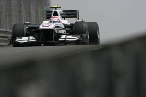 Kamui Kobayashi und das Sauber-Team waren bislang noch nicht in Topform