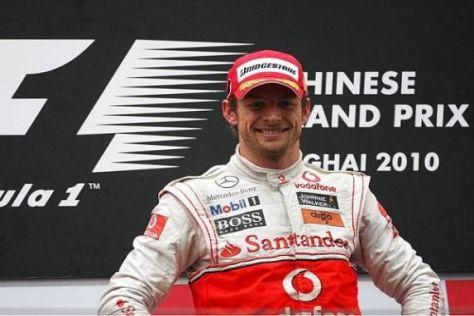 Weltmeister Jenson Button zählt nun zu den reichsten Sportlern Großbritanniens