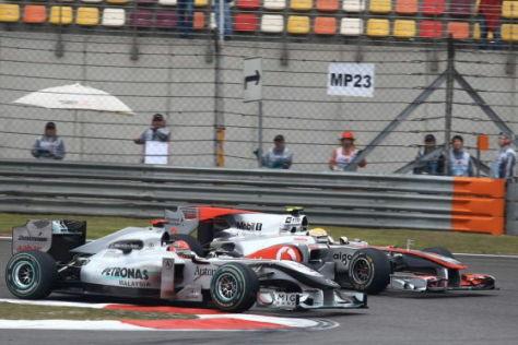 F1: Selbstkritischer Schumi