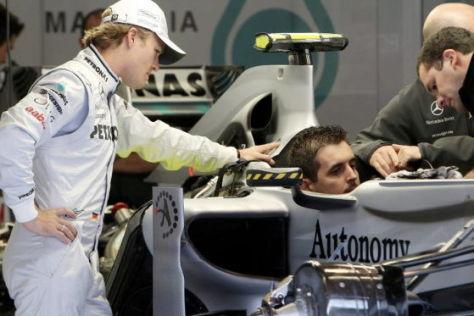 Nico Rosberg Mercedes GP