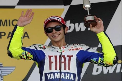 Valentino Rossi kann sich entscheiden: Bei Yamaha bleiben - oder wechseln